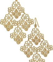 Chantilly Lace Chandelier Earrings $33