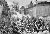 1838-1876: Taiping uprising in China