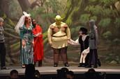 The leads of Shrek rocked it all weekend
