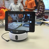 The SWIVL can record you and your students!