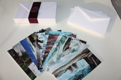 Luxe Postcards
