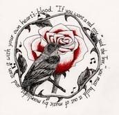 The rose bush talking