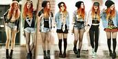 Parecidos conjuntos de chica hipster