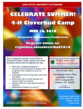Cloverbud Day Camp