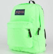 NEON BACK PACK IS DUE ON SHOW DAY