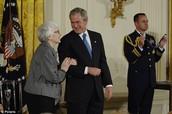Harper gets an award