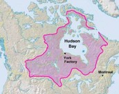 The HBC's massive land area,
