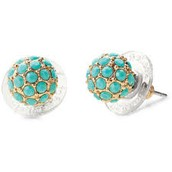 Soiree Studs Turquoise $14 SOLD (Sarah Waters)