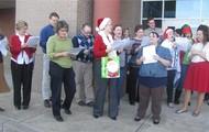 Christmas Charroling Teachers