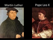Martin Luther vs. The Pope
