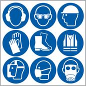 Several PPE symbols