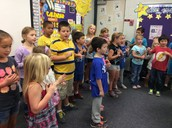 Our Kindergarten Buddies Family Sing Along!