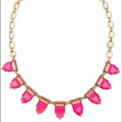Eye Candy Necklace Pink