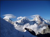 The Huascaran Mountian