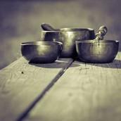 Cuencos Tibetanos - Singing bowls - Panelas Tbetanas