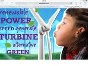 Wind is Renewable,and the future for our kid Safety!