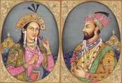 Shah Jahan and his Wife.