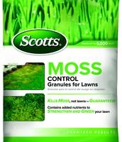 $5.00 off Moss Control Granules One bag 5000 sq. ft