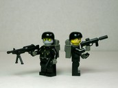 Homemade special Ops minifigs