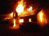 House devoured as seen last night