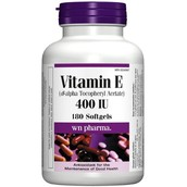 Vitamin E on sale! 11.99 for 180 gel capsules!
