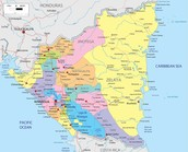 Map Of nicargua