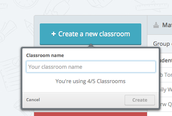 Creating your first Classroom