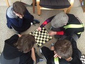 ...although the kids have shown a high interest in chess.