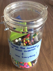 How many supplies are in the jar??