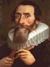Johannes Kepler's 3 planetary laws