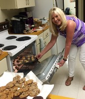Shout Out:  HJH Admin. making cookies