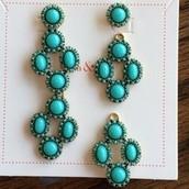 Turquoise Sardinia Chandeliers
