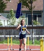 Lauren Evarts - 300 Hurdles