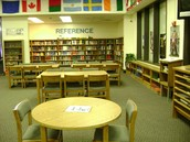 Lower Richland High School Library