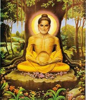 Ascetic Monk Buddha
