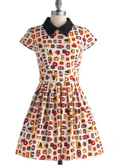 Poise and Click Dress