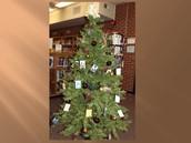 Book Ornament Christmas Tree