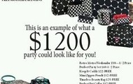 This is an example of what a $1200 party could look like for you!