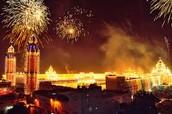 Diwali City Celebration