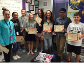 2nd Period Prowess Awards 1st Six Weeks