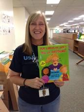 Becky Christensen, librarian