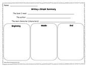 Fiction Book Response (Drawing)