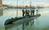 The USS Holland in color
