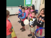 Instruments in Music Class