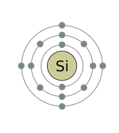 Silicon's electrons