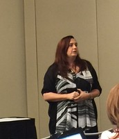 Teena Martin presenting Gamification