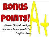 Attend the fair & get rewarded!