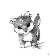 have a kawaii wolf link