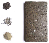 Tabiques con residuos metálicos