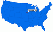 Omaha Nebraska is basically in the middle of the United States of America